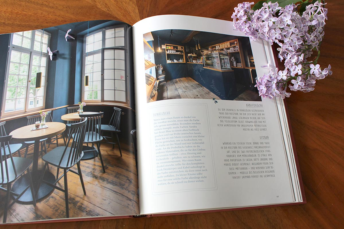 Design Cafés in Deutschland im Buch Sugar Girls
