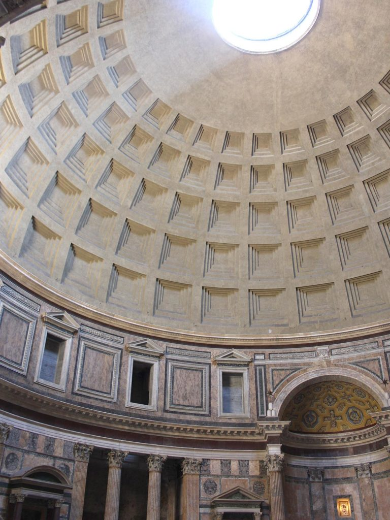 Architektur in der Altstast in Rom: das Pantheon