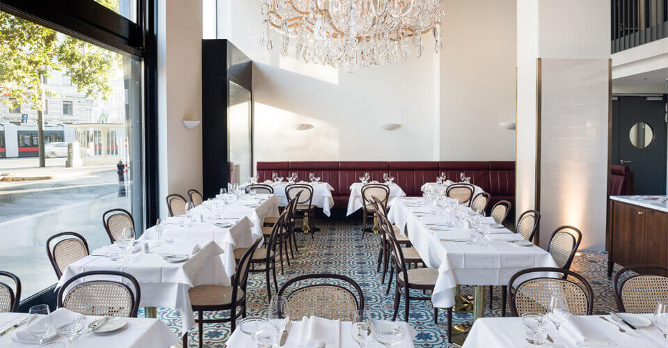Thonet in Edel Gastronomie: Im Grand Ferdinand in Wien
