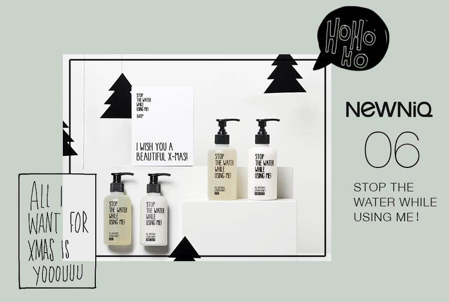 Handkit von STOP THE WATER WHILE USING ME! im Newniq Adventskalender zu gewinnen