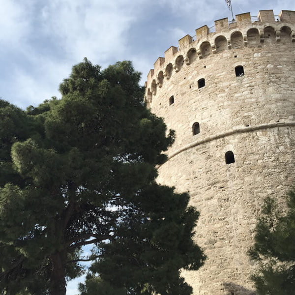 Sehenswuerdigkeit in Thessaloniki der White Tower