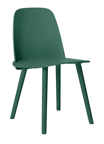 Ned Chair in darkgreen von Muuto