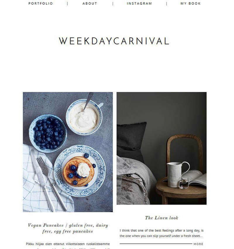 Design- und Interiorblog Weekday Carnival