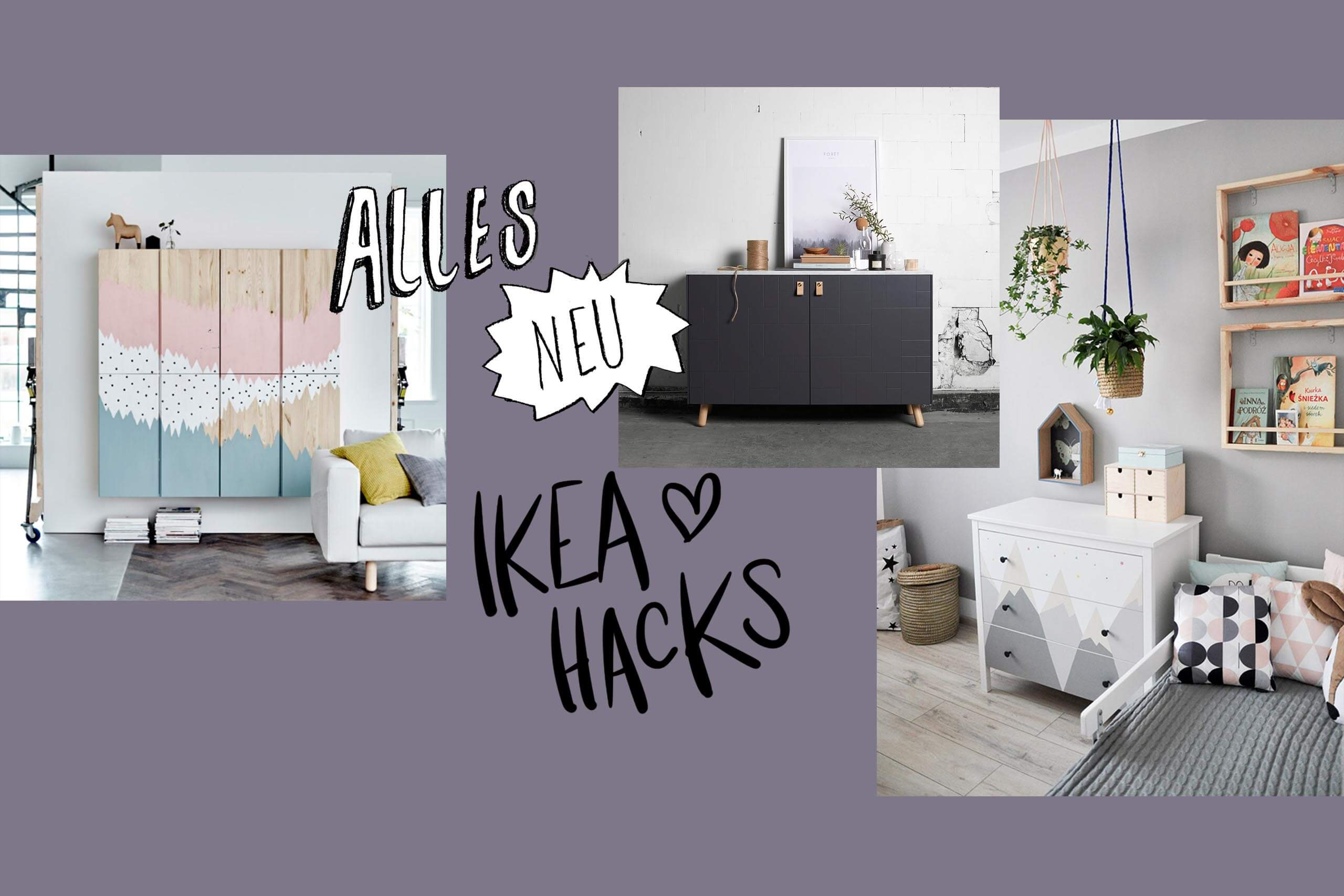 update die 11 besten ikea hacks im netz newniq interior blog design blog. Black Bedroom Furniture Sets. Home Design Ideas