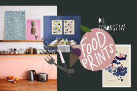 Food Poster Kueche Interior Plakate