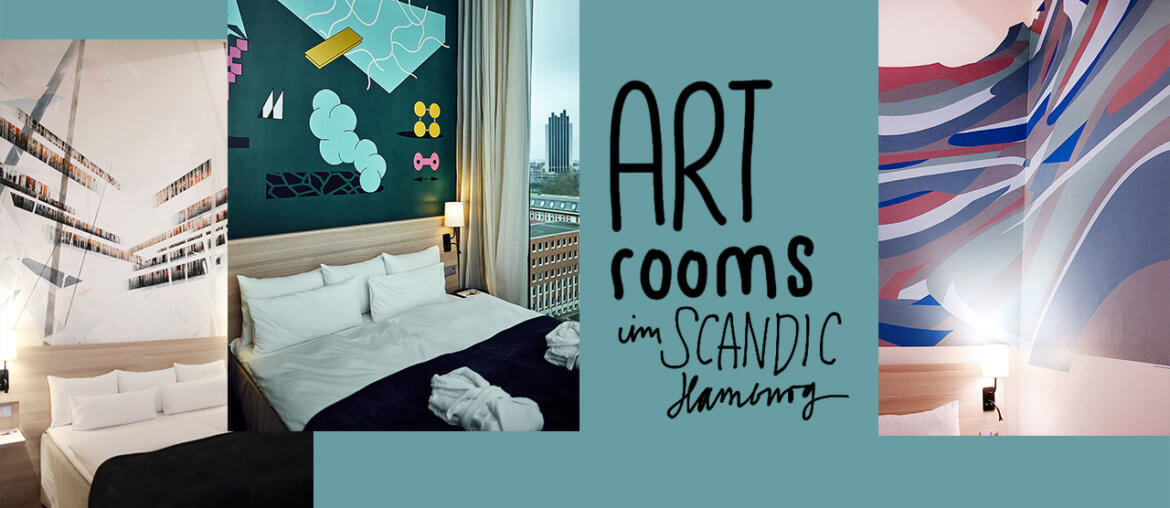 Die Art Rooms im Scandic Hamburg Emporio Hotel