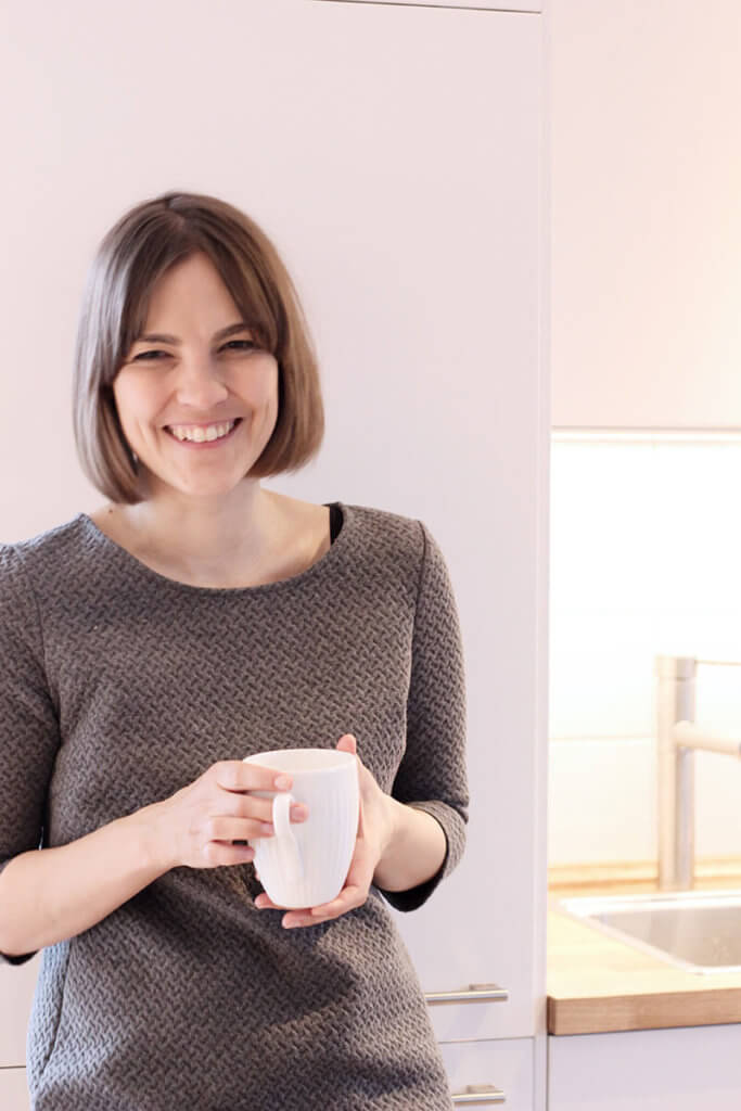Coffeelover: Pause beim Fotoshooting