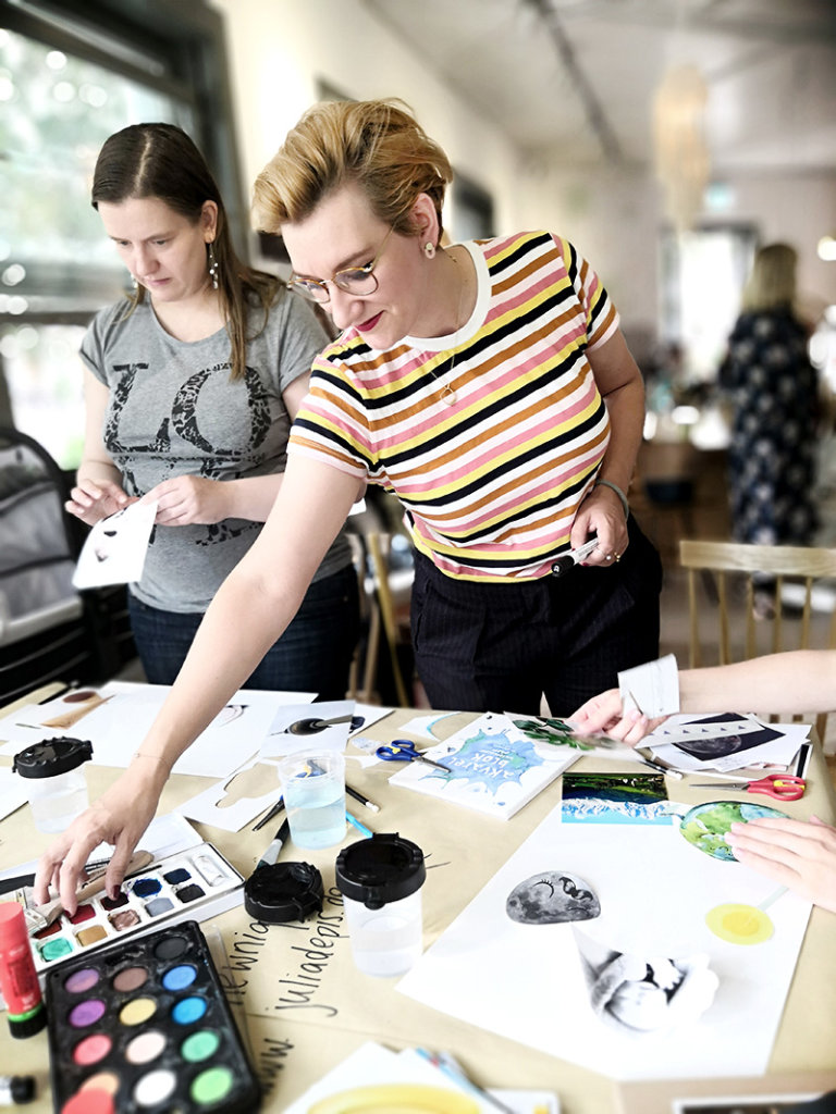 Illustration Workshop von Julia Depis in Berlin von Stokke