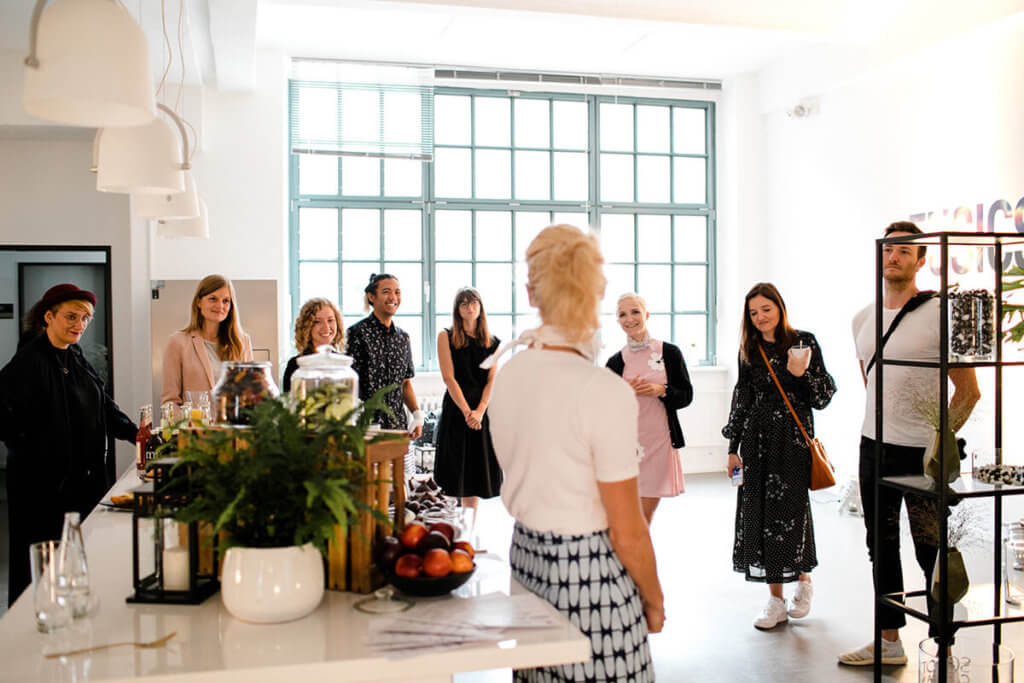 Sister Mag und Schott Ceran Blogger Event in Berlin Wedding