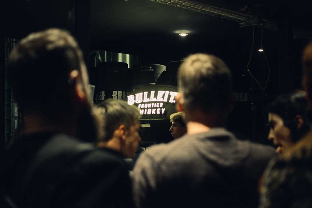 Das Bulleit event in Kreuzberg