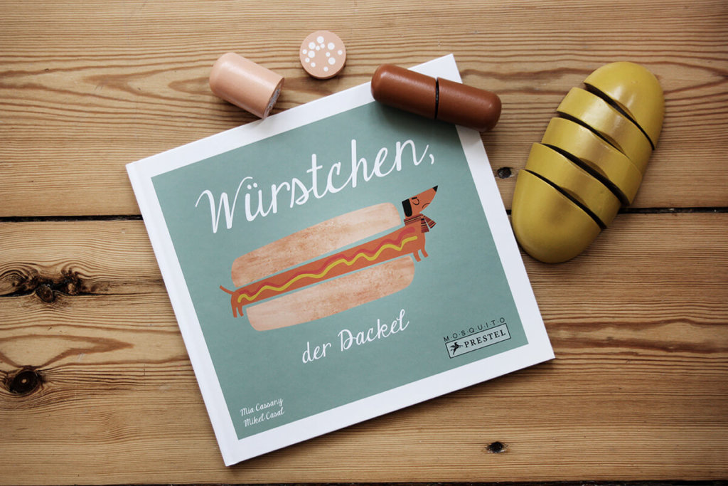 Illustrierte Kinderbuecher mit Vintage Illustrationen