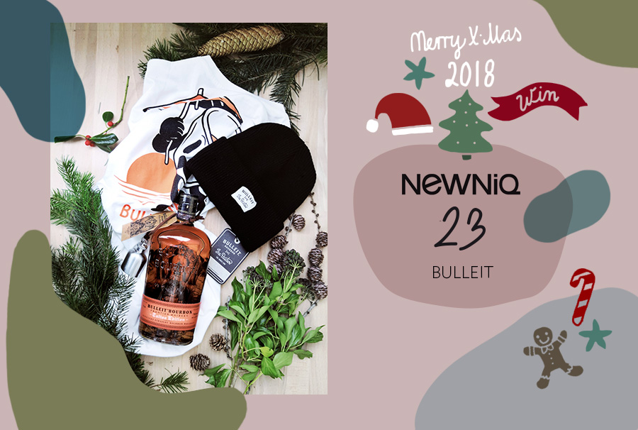 Die Bulleit tattoo edition im Newniq Adventskalender 2018