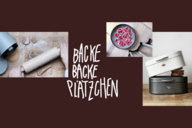 Schnelle Plaetzchen backenmit der Wesco Loft Collection