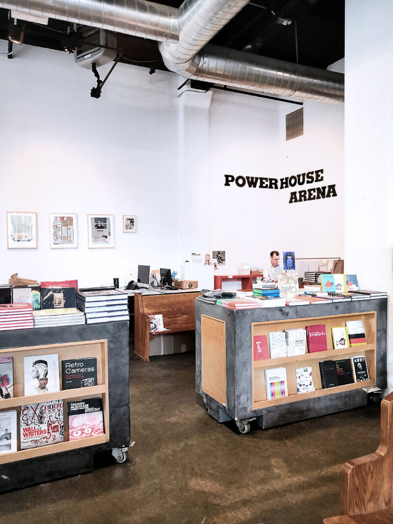 Powerhouse Arena Buchladen in Dumbo in den new York Highlights